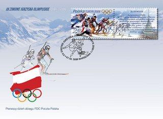 Polski znaczek olimpijski złotym medalistą