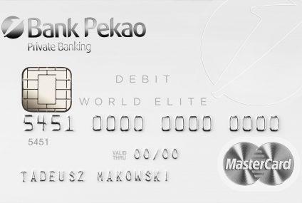 Debetówka dla milionera. World Elite Debit MasterCard w ofercie Pekao SA