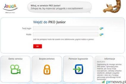 Konto Junior, czyli rachunek dla małych dzieci od PKO BP