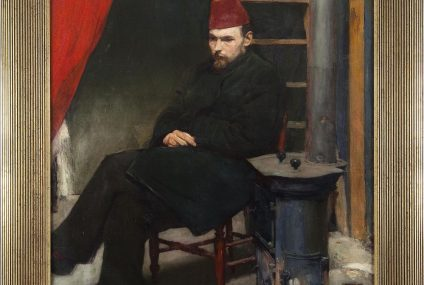 """Dzieło Mehoffera """"Portret Laszczki"""" trafi na aukcję"""