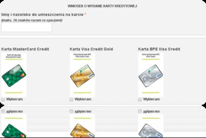 Do Banku BPS wpłynęły pierwsze wnioski o karty kredytowe poprzez system bankowości internetowej e25