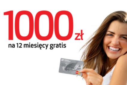 Banki znów promują karty kredytowe. 1000 zł bez odsetek i prowizji od Credit Agricole
