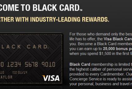 Kartę Visa Black możesz mieć przy dochodach... 5 tys. zł
