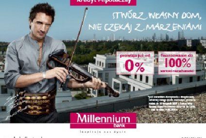 Rusza jesienna promocja kredytów hipotecznych w Banku Millennium