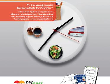 Wystartowała kampania reklamowa płatności zbliżeniowych MC PayPass