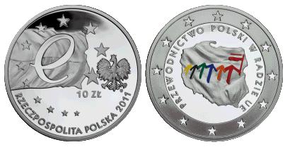 Polskie przewodnictwo w Radzie UE na monetach NBP