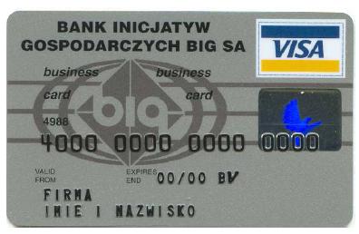 20-lecie wydania pierwszej w Polsce karty płatniczej