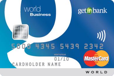 Getin Bank oferuje przedsiębiorcom kartę World MasterCard Business