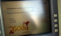 Wiewiórki Banku BGŻ sprzedają ROR-y w bankomatach