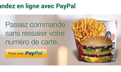 We Francji McDonald's stawia na mobilnego PayPala