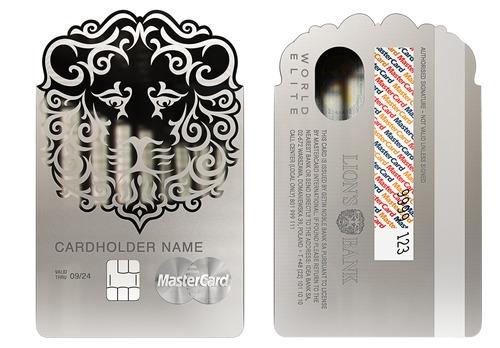 Lion S Bank Wprowadza Metalowa Karte W Ksztalcie Glowy Lwa Prnews Pl