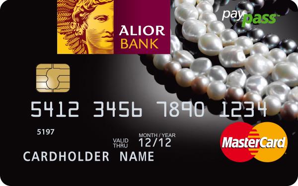 Karta Debit Mastercard Paypass Mala Czarna W Ofercie Alior Banku