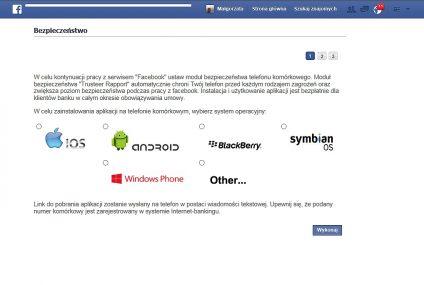Ten wirus z Facebooka może wykraść hasła do bankowości internetowej