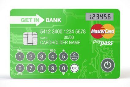 Karty z wyświetlaczem spodobały się klientom Getin Banku