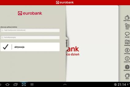 Banki coraz bardziej mobilne: eurobank też już na komórkach