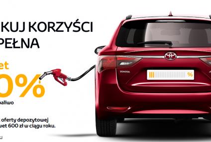 Nowa promocja Toyota Banku pod lupą. Jak odzyskać 600 zł za paliwo?