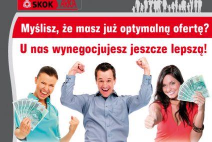 Negocjacje zaletą nowej Pożyczki negocjowanej w SKOK ARKA