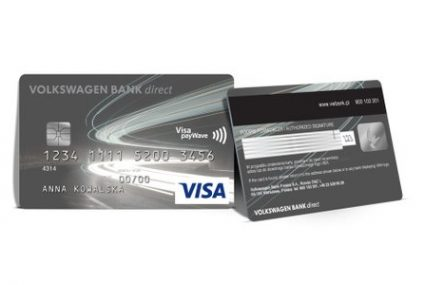 Nowe karty płatnicze Volkswagen Bank direct