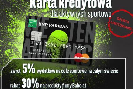 Karta kredytowa dla aktywnych sportowo z dużym moneybackiem