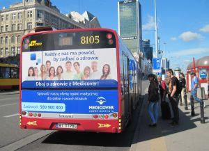 Autobus czy stacja radiowa - gdzie skutecznie zachęcać do dbania o zdrowie?