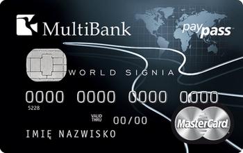 MultiBank chce zdobywać 800 zamożnych klientów miesięcznie. Wprowadza World Signię