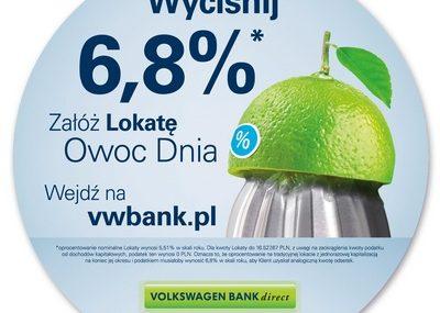 Diferente owocnie dla Volkswagen Bank direct