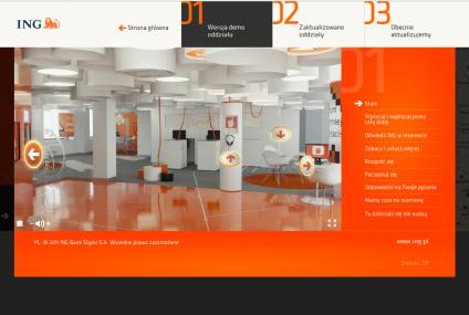 MOSQI.TO dla ING Bank Śląski – strona www i wirtualny spacer