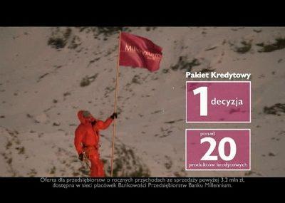 Marek Kamiński twarzą kampanii Banku Millennium