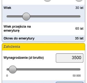 Kalkulator Avivy w formie aplikacji mobilnej na Androida
