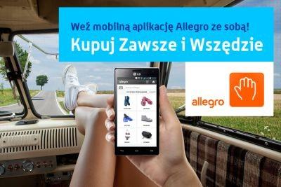 Allegro promuje mobilne zakupy