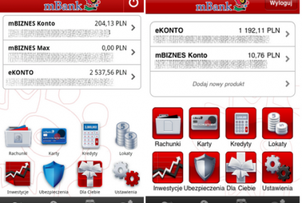 mBank dostępny na Androida, MultiBank uruchamia serwis lite