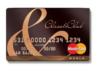 Class&Club - karta kredytowa z programem partnerskim w ofercie Raiffeisen Banku