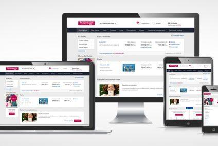 Tak będzie wyglądał nowy system bankowości internetowej Banku Millennium