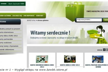 Karty przedpłacone w nowym sklepie internetowym Banku Zachodniego WBK