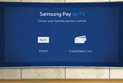 Samsung Pay będzie dostępny także w telewizorach Smart TV