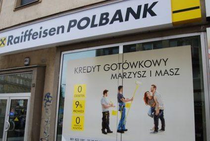 To pewne: Austriacy wystawiają Raiffeisen Polbank na sprzedaż