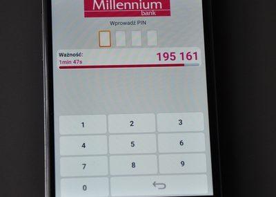 Bank Millennium udostępnił już Blika w aplikacji mobilnej [zdjęcia]