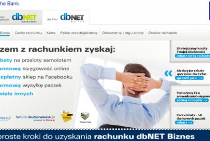 Deutsche Bank PBC uatrakcyjnia ofertę kont dla firm