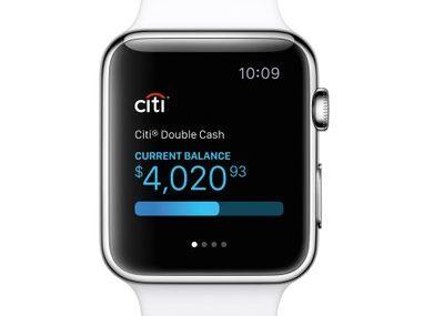 Citibank zapowiada aplikację mobilną na Apple Watcha