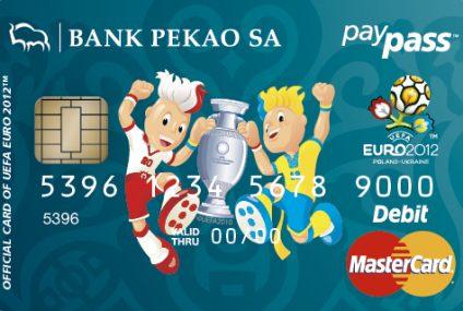 Oficjalne karty prepaid UEFA EURO 2012 w Banku Pekao