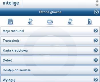 Zmiany w serwisie mobilnym Inteligo: szybki dostęp i zarządzanie kartą