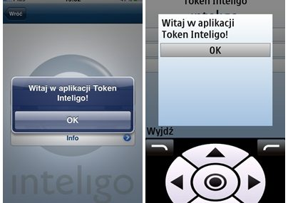 Inteligo testuje token GSM i kody SMS