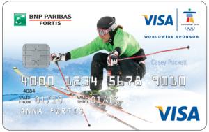 Na igrzyska specjalna karta kredytowa od BNP Paribas Fortis