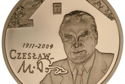 100-lecie urodzin Czesława Miłosza – nowe monety NBP