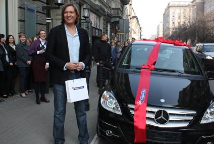 """Mercedes od Polbanku trafił do zwycięzcy """"Wielkiego Punktowania"""""""