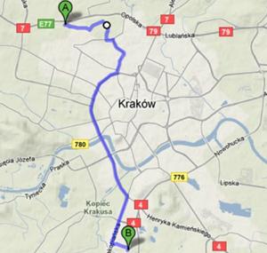 Bezpieczeństwo sieci WiFi w Polsce: Kraków - wrzesień 2009