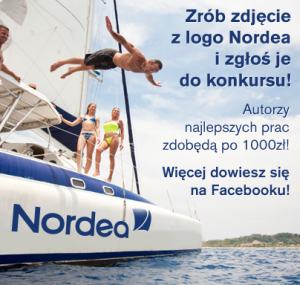 "Konkurs fotograficzny ""Z logo Nordea w tle"""