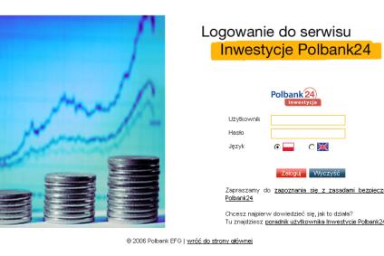 Rusza serwis Inwestycje Polbank24