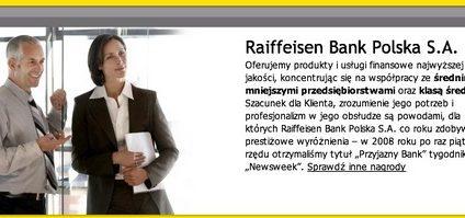 Raiffeisen Premium - czyli coś pomiędzy personal a private bankingiem