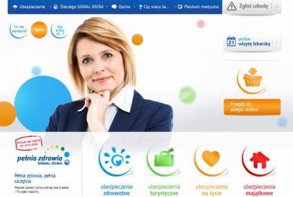 Signal Iduna ma nową stronę internetową